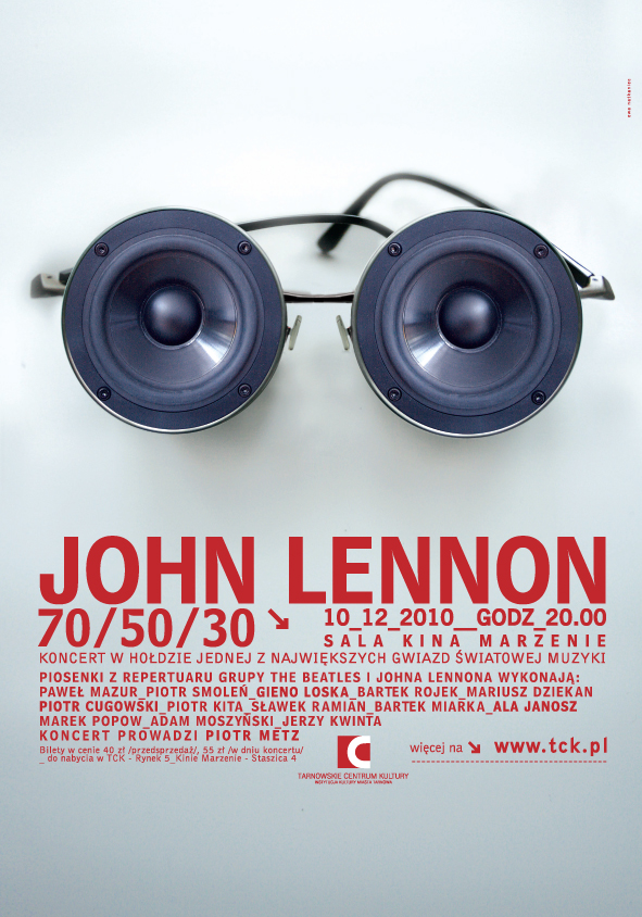JOHN LENNON PLAKAT WYBRANY KRZYWE.indd