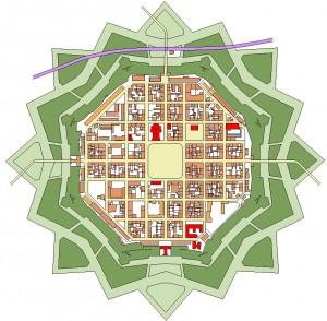 Plan de Neuf-Brisach (Neu Breisach)