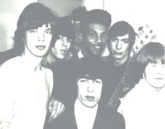 Tony Newton avec les Rolling Stones, en 1965