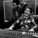 Al Green et Willie Mitchell en studio