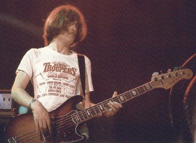 John Paul Jones, en tournée avec Led Zeppelin