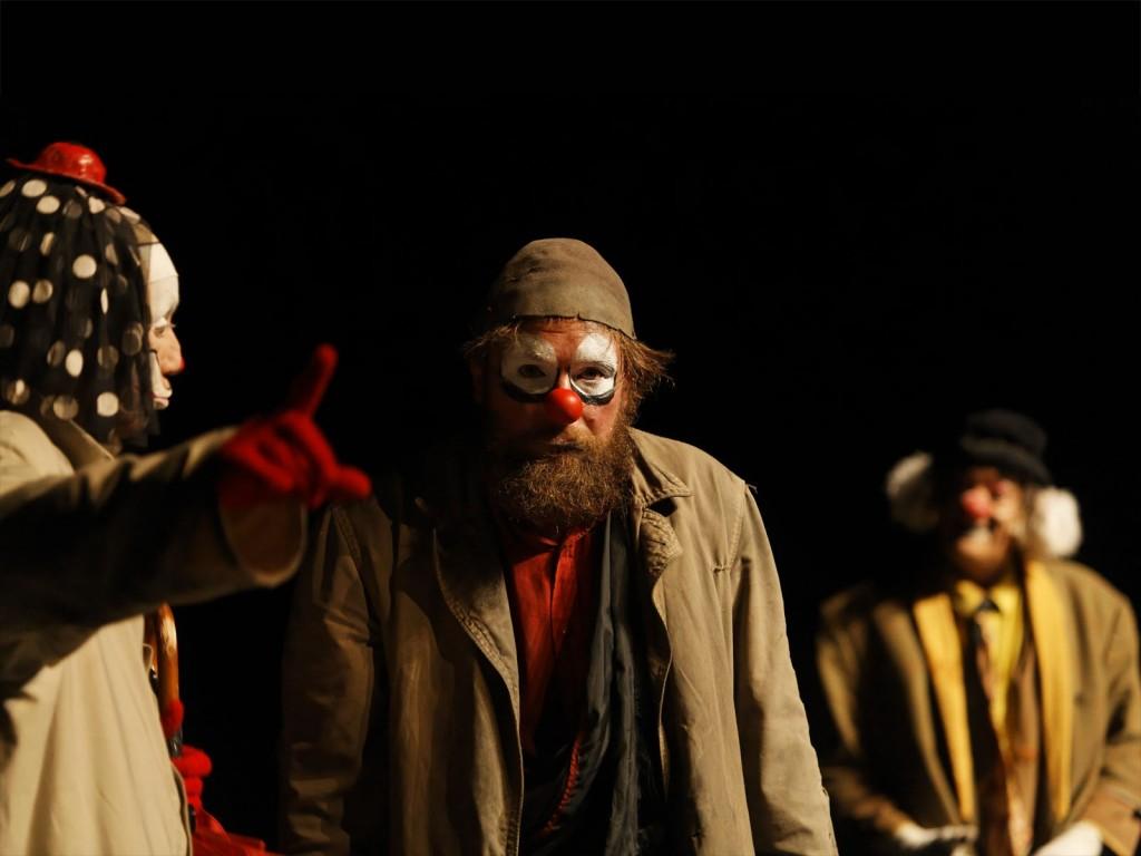 Les Clowns, de François Cervantès, © CIUP