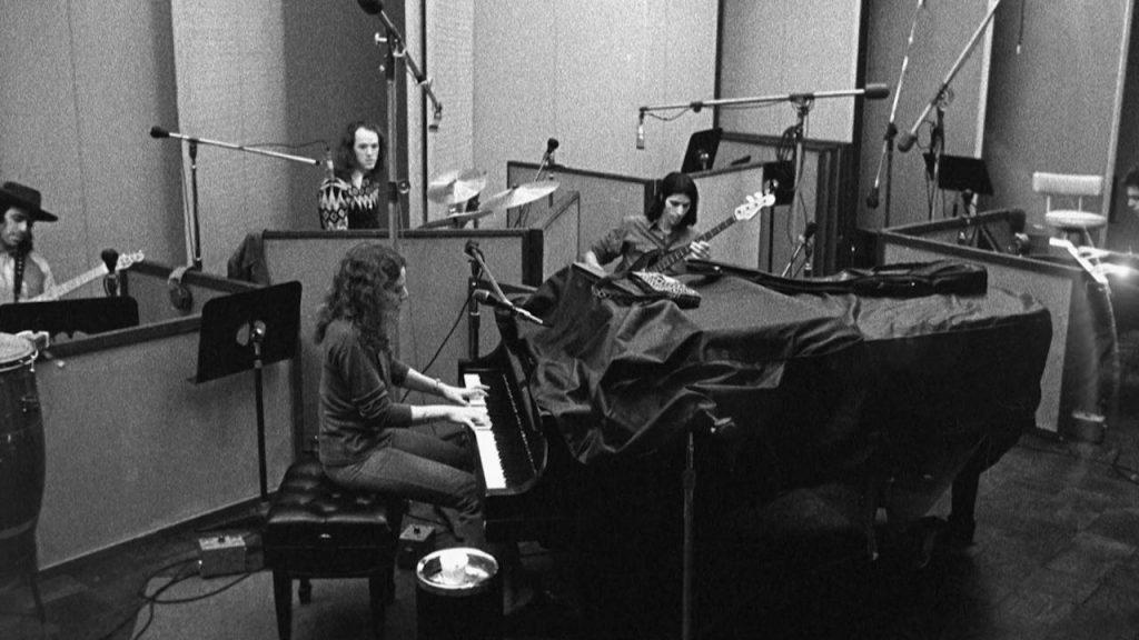 Carole King en studio